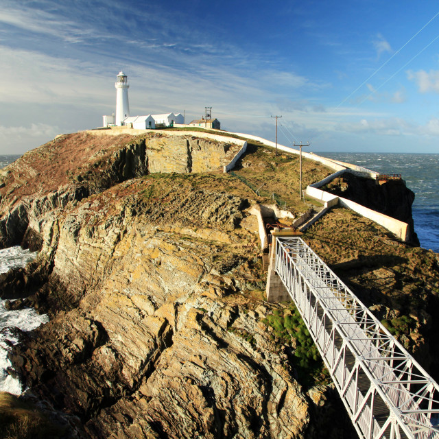 """""""South Stack"""" stock image"""