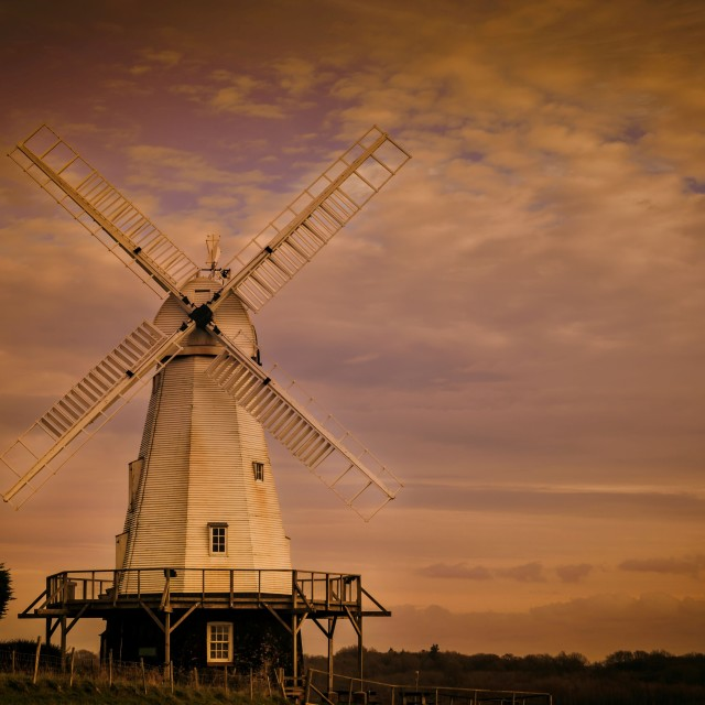 """WINDMILL ..."" stock image"