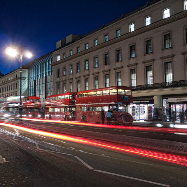 """London Buses"" stock image"