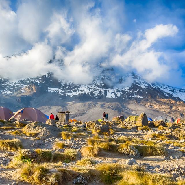"""Karanga, Kilimanjaro, Africa"" stock image"