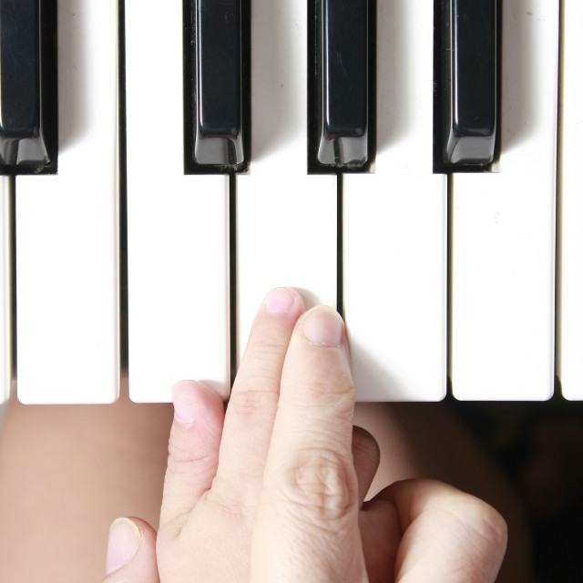 """""""learning music"""" stock image"""