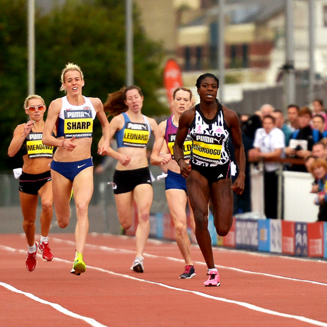 """British Athletics,"" stock image"