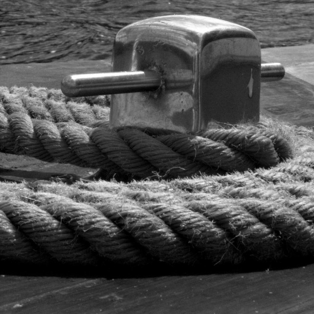 """""""Rolled Rope"""" stock image"""