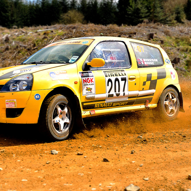 """Pirelli Rally 2014"" stock image"