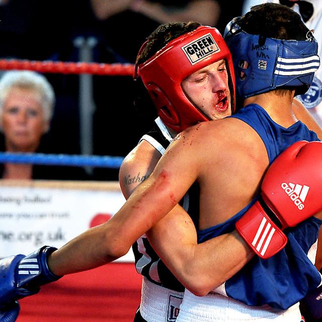 """Amateur Boxing Championship"" stock image"