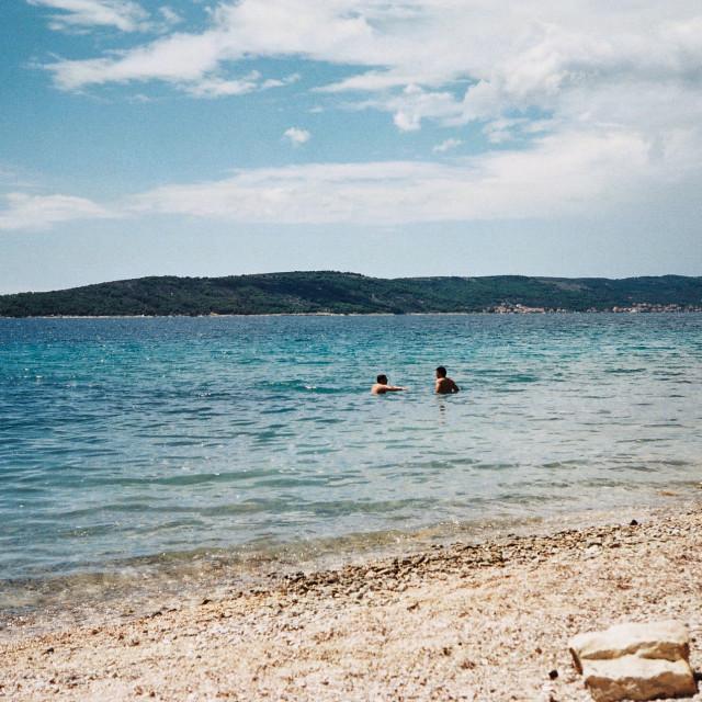 """The Beautiful Adriatic"" stock image"