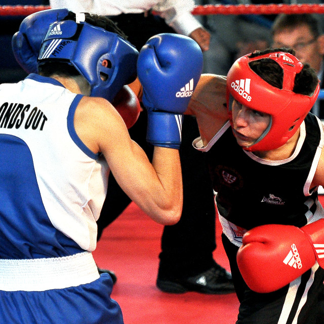 """Amateur Boxing Championship"" stock image"