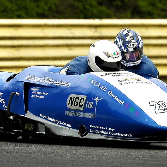 """""""British F1 Sidecar Championship"""" stock image"""