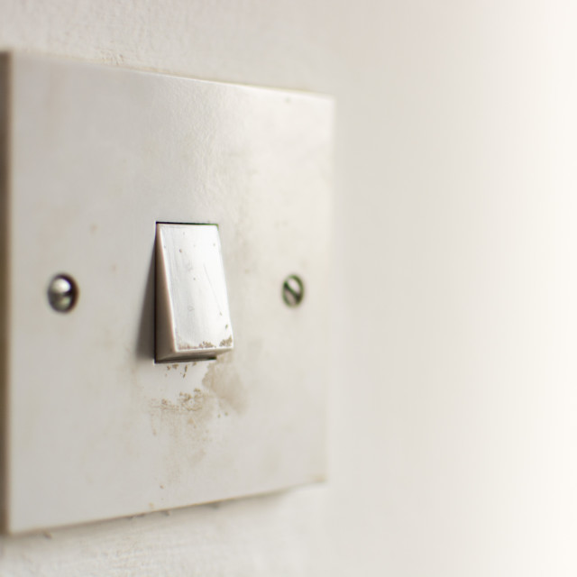 """""""Light Switch Side"""" stock image"""