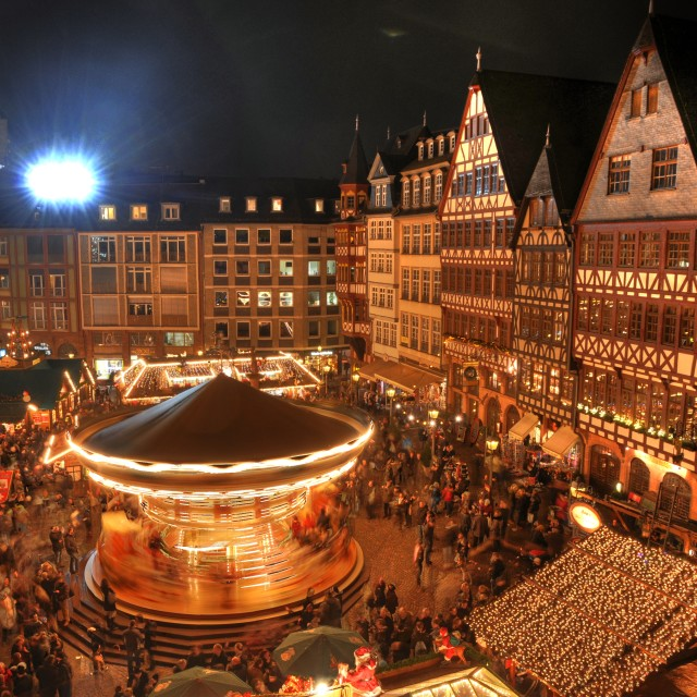 """Christmas market in Frankfurt"" stock image"