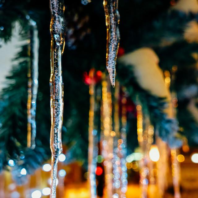 """""""Merry Christmas (V.1)"""" stock image"""