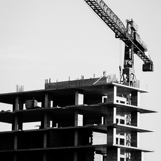 """Lifting Crane"" stock image"