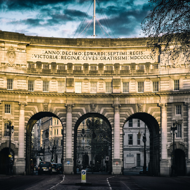"""Admiralty Arch, London"" stock image"