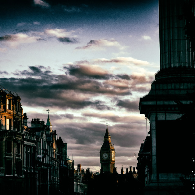 """Elizabeth Tower (Big Ben) - London"" stock image"