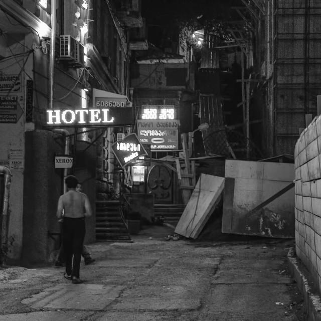 """Hotel."" stock image"