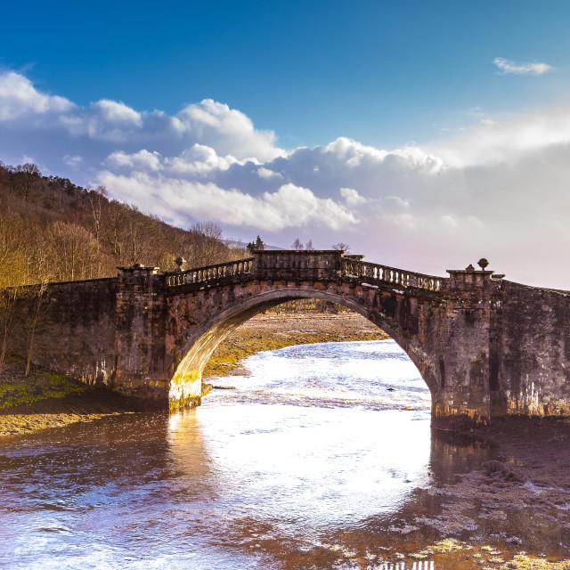 """Old Stone Bridge"" stock image"