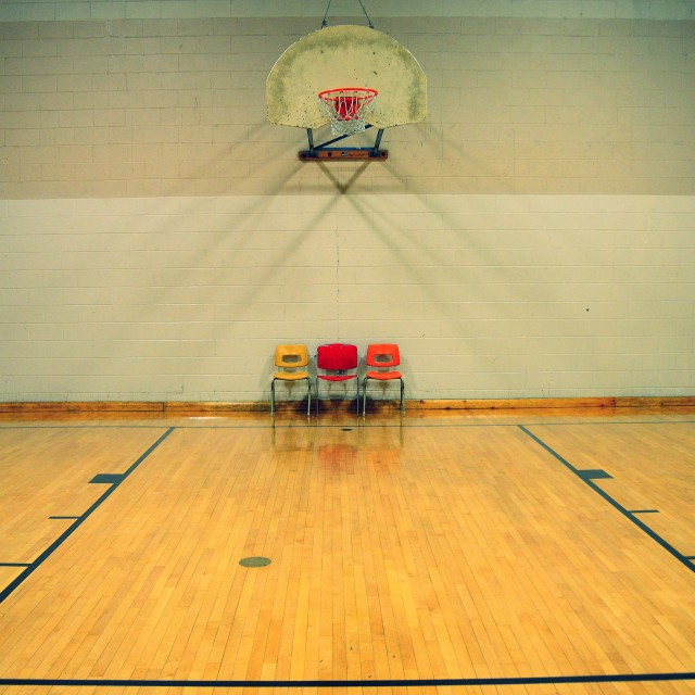 """Empty Gym"" stock image"