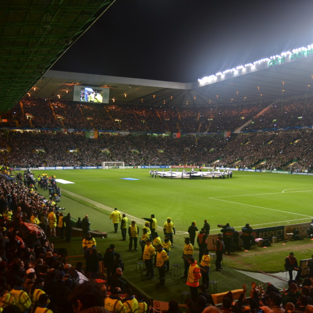 """Celtic European night"" stock image"