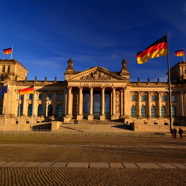 """the Reichstag"" stock image"