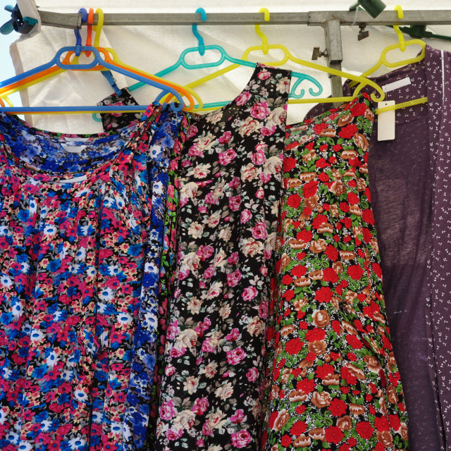 """apron smock dress"" stock image"