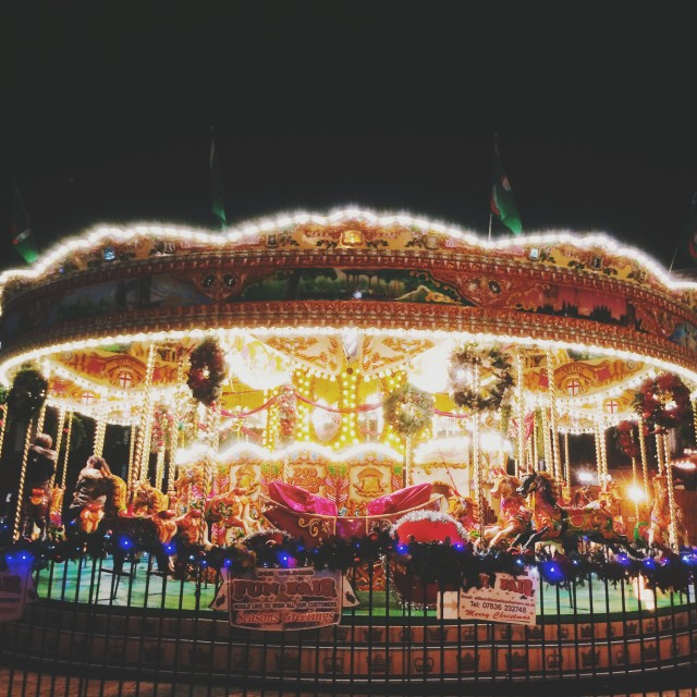"""Carousel part 1"" stock image"