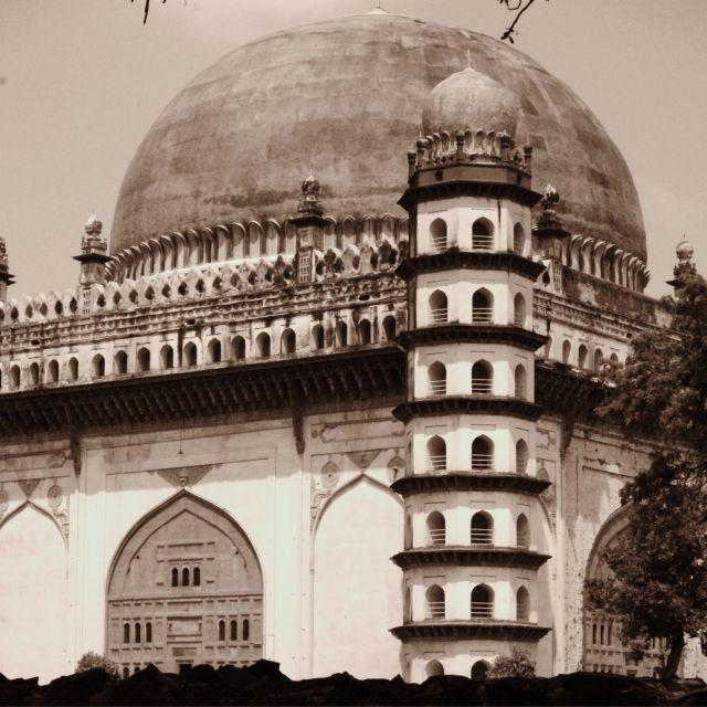 """""""The Gol Gumbaz, Bijapur"""" stock image"""