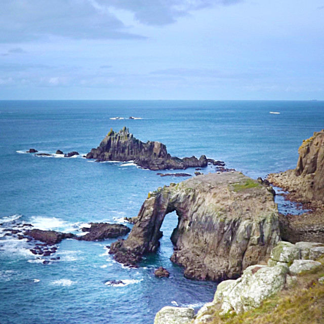 """Lands End England"" stock image"