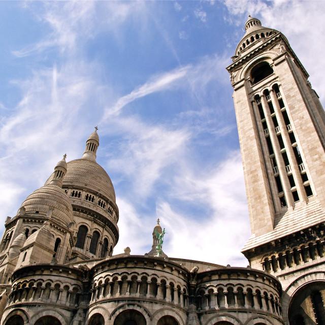 """""""The Sacre Coeur"""" stock image"""