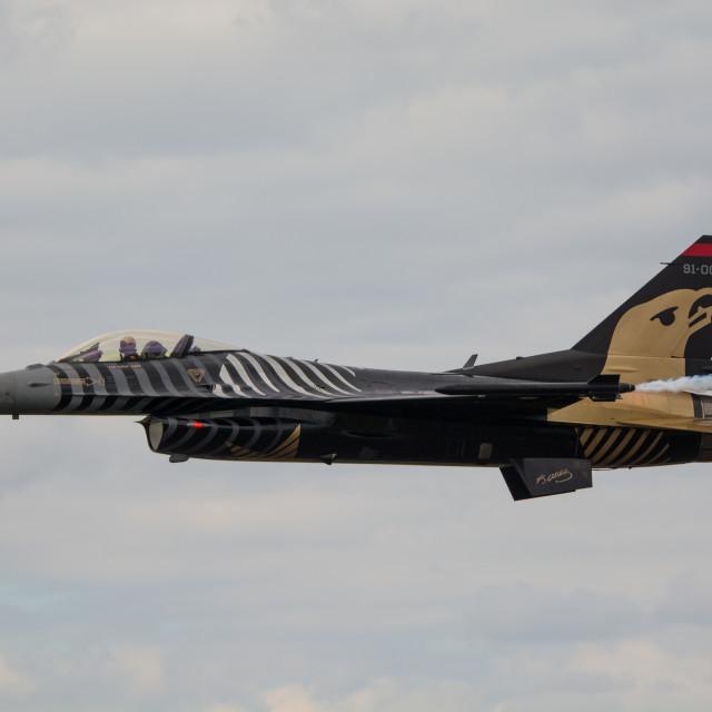 """F 16 Solo Turk"" stock image"