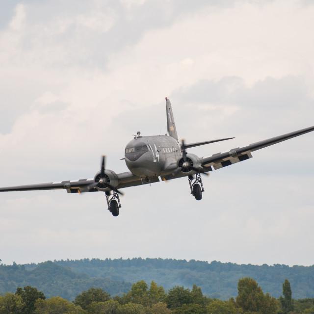 """Douglas DC-3"" stock image"