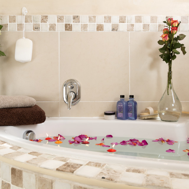 """Luxurious Bath"" stock image"