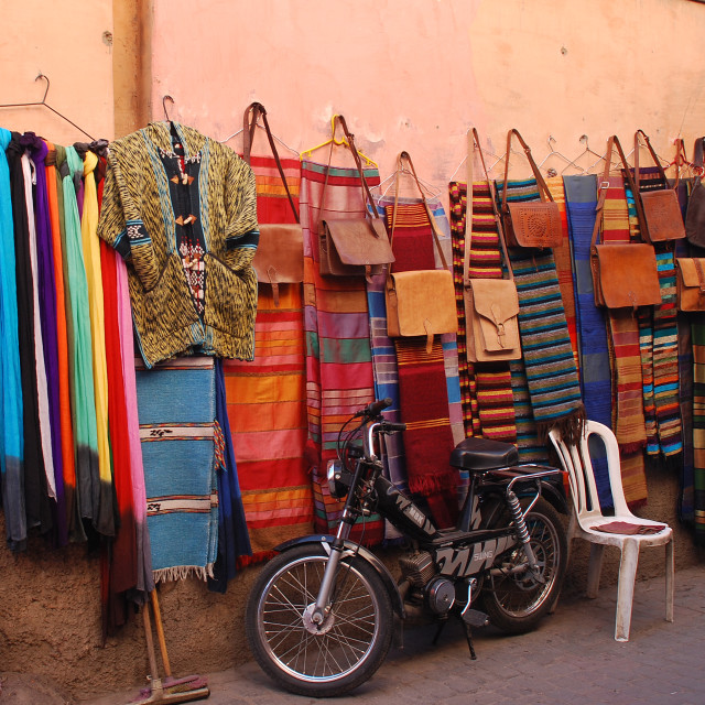 """Street shop"" stock image"