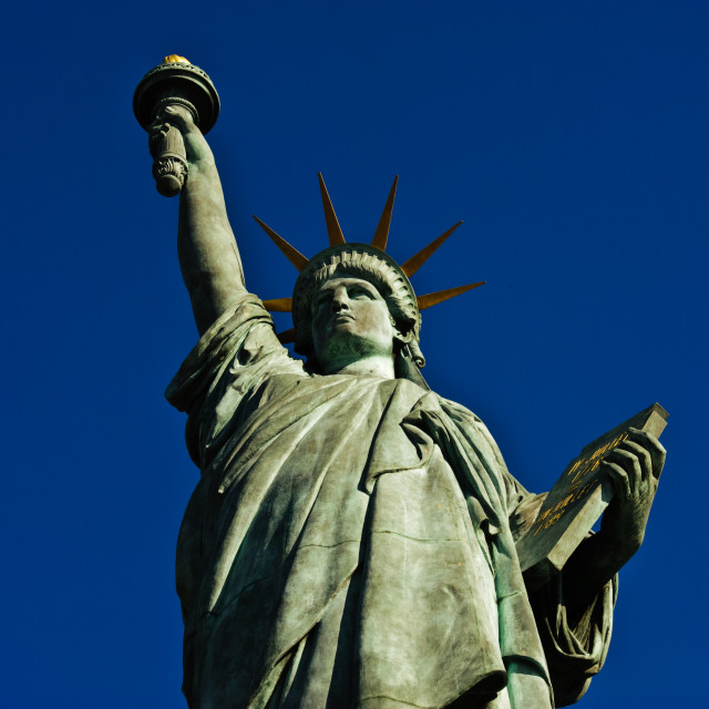 """Statue of Liberty - Landscape"" stock image"