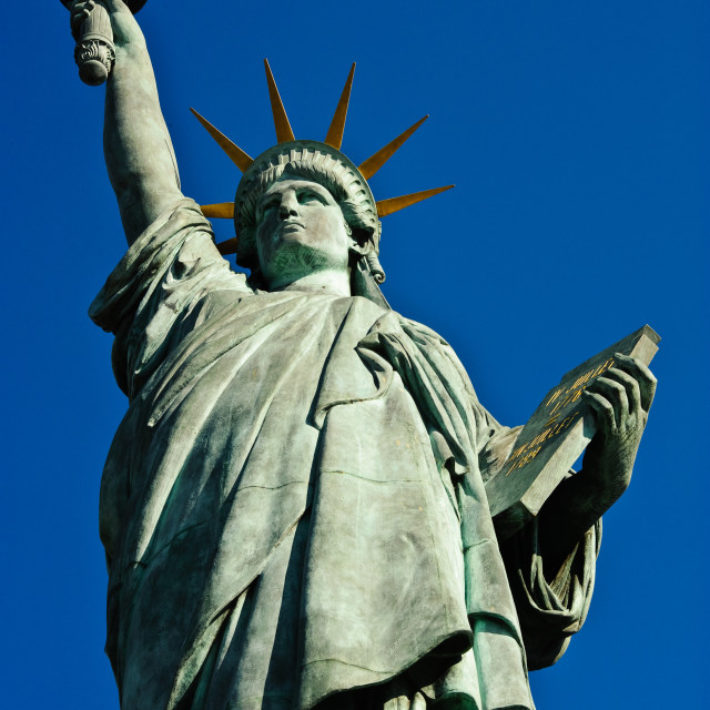 """Statue of Liberty - Portrait"" stock image"