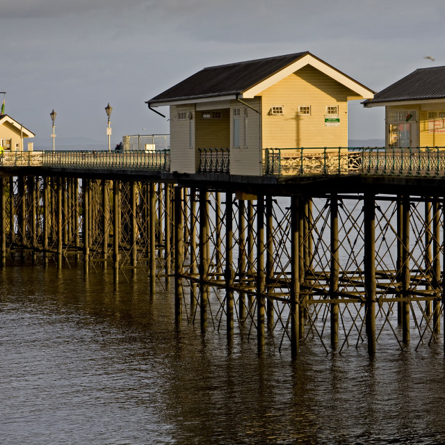 """Penarth Pier, South Wales, UK"" stock image"
