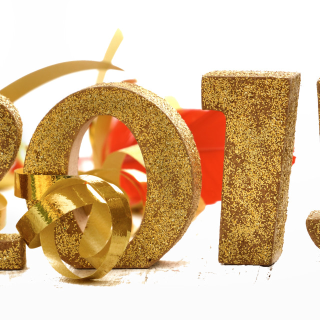 """""""New year 2015"""" stock image"""