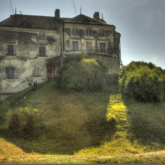 """Olesko Castle, Lviv Oblast, Ukraine"" stock image"