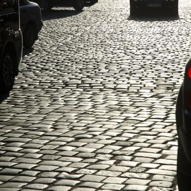 """""""Cobblestones"""" stock image"""