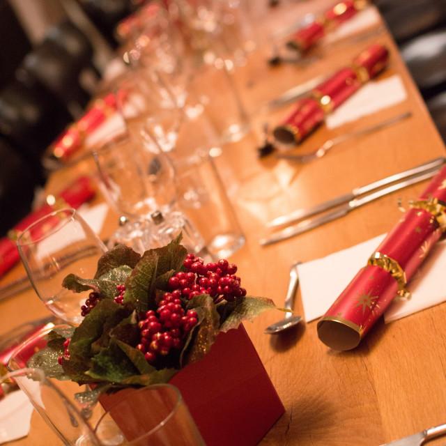 """""""Festive Dinner"""" stock image"""
