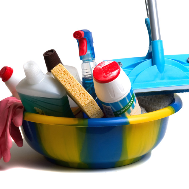 """""""Spring cleaning"""" stock image"""