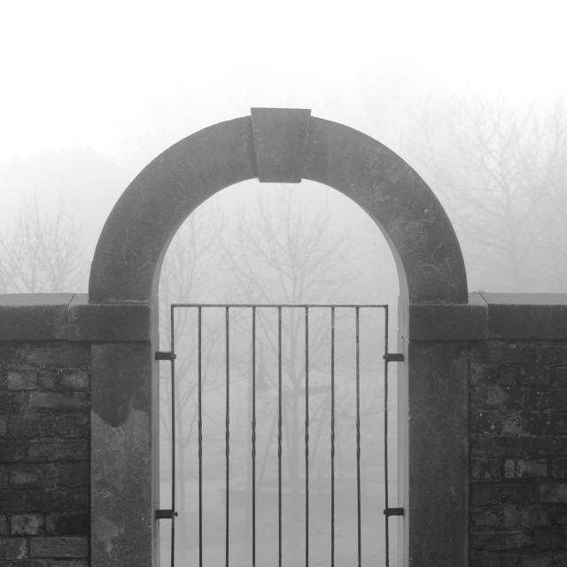 """Ancient Gate"" stock image"