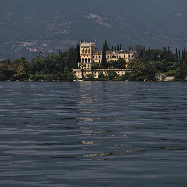 """Isola del Garda"" stock image"