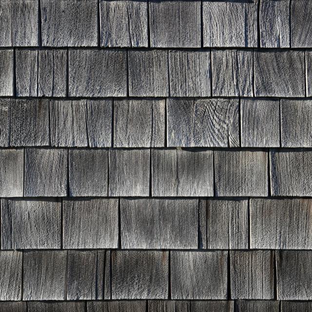 """Cedar shingles"" stock image"