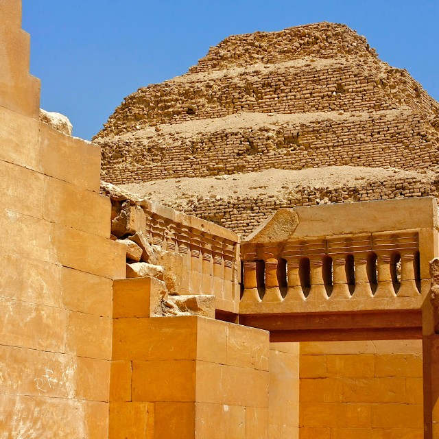 """Saqqara"" stock image"