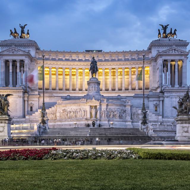 """""""Altare della Patria in Rome"""" stock image"""