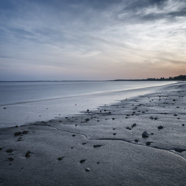 """Shoreline - Humber Estuary"" stock image"