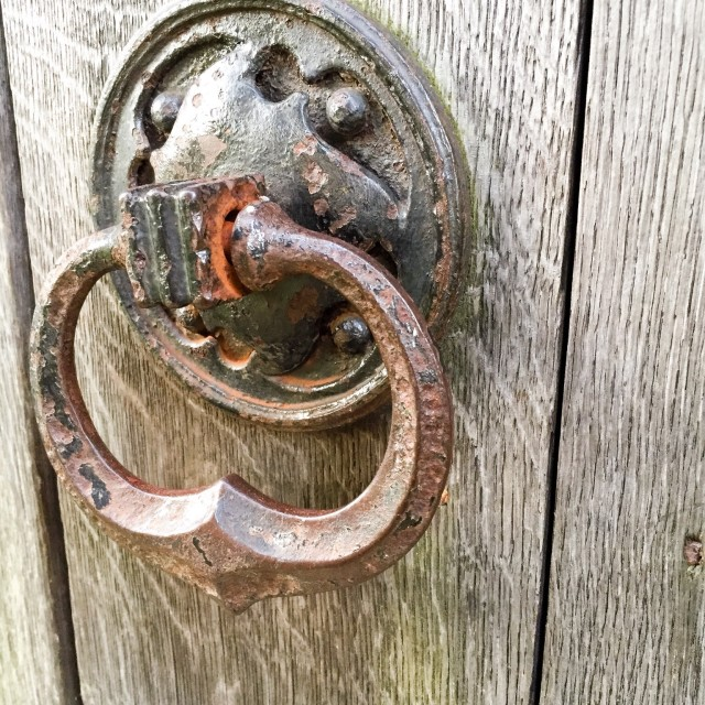 """Door Knocker"" stock image"