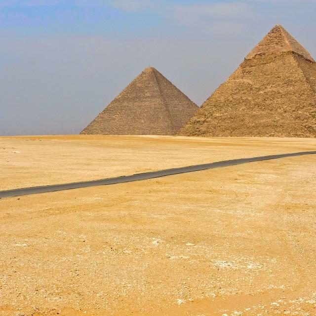 """Giza Plateau"" stock image"