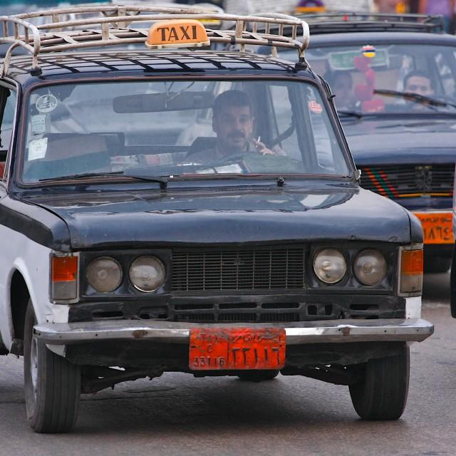 """Cairo Taxi"" stock image"
