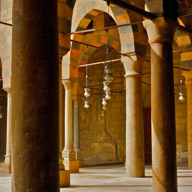 """""""Colonnade"""" stock image"""